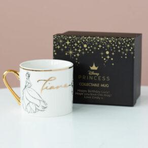 Tiana Disney Limited Edition Mug with Personalised Gift Box