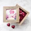 Kisses Oak Photo Cube